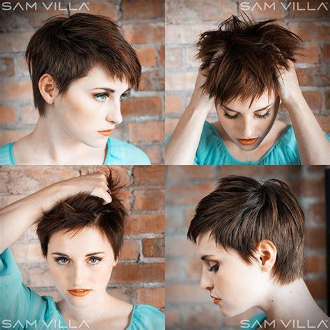 sam villa pixie cut short razor haircut sam villa education for salon
