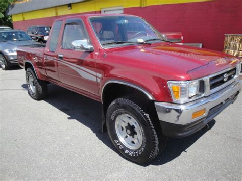 1993 Toyota 4x4 1993 Toyota Sr5 V6 2dr 4wd Extended Cab Sb In