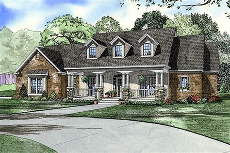 4 bedroom country house plans southern style house plan 4 beds 3 baths 2373 sq ft plan