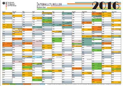 Katholischer Kalender 2016 Bamf Bundesamt F 252 R Migration Und Fl 252 Chtlinge Downloads