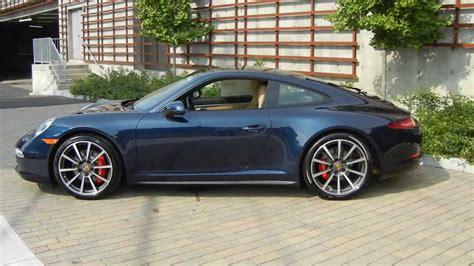 porsche night blue 2014 porsche 911 carrera 4s brand new youtube