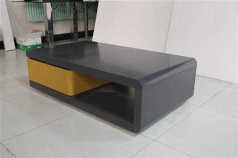 new design modern wood coffee table with draw buy wood