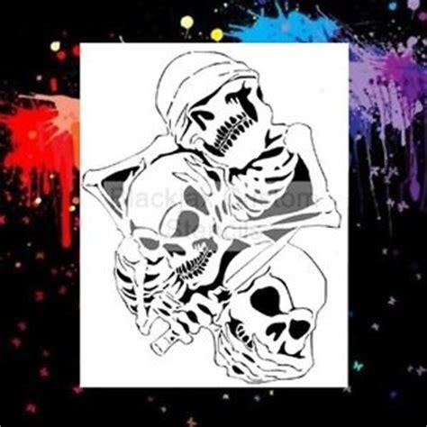 airbrush skull templates airbrush stencils deals on 1001 blocks