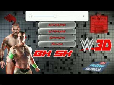 download mod game wrestling revolution 3d wrestling revolution 3d wwe 2k17 mod android