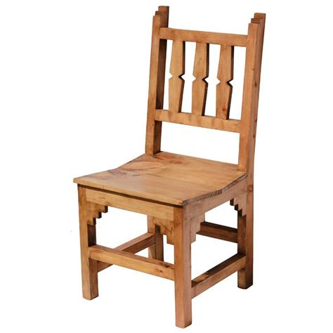 pine chairs rustic pine collection new mexico chair sil18
