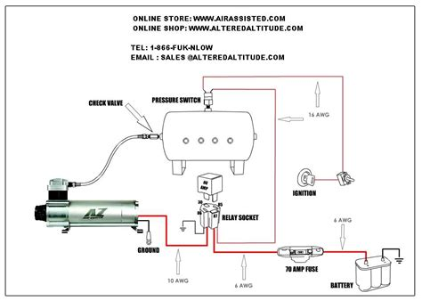 kit diagrams new airbag suspension wiring