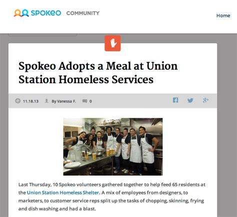 Spokeo Phone Lookup Spokeo Adopts A Meal At Union Station Homeless Services 171 Spokeo Search