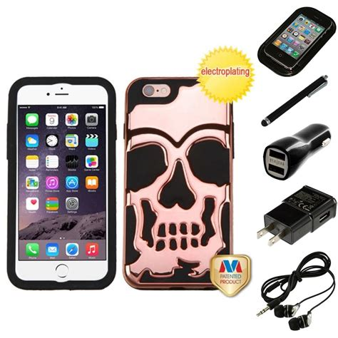 Hardcase Iphone 6 6s 5 for iphone 6 6s plus 5 5 hybrid skull skeleton
