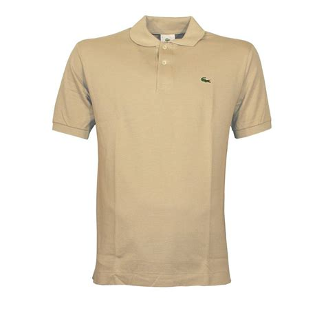 Polo Shirt Lacoste Beige Polo Shirt Polo Shirts From Designerwear2u Uk