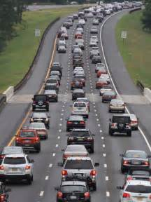 Garden State Parkway Traffic Labor Day Traffic Builds Up On Garden State Parkway