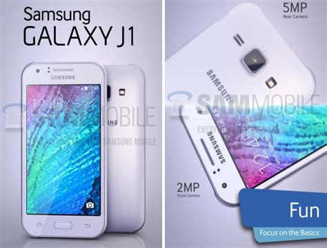 samsung galaxy j1 android themes samsung galaxy j1 budget lte smartphone leaked online
