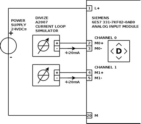 current loop connection divize industrial automation