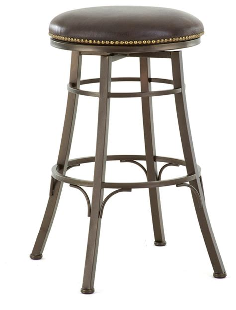 steve silver bali backless swivel bar stool modern bar