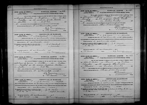 Oklahoma County Records Marriage File Oklahoma County Marriages 1890 1995 2027352 Page 220 Of 527 Jpg Coxgenealogy