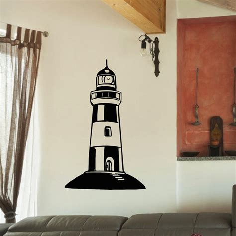 lighthouse wall stickers large lighthouse wall stickers lighthouse wall decal