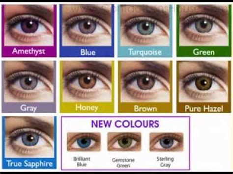 freshlook blue contact lenses youtube