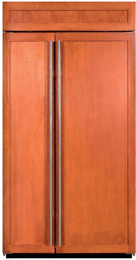Sub Zero 42 Inch Door by Sub Zero Bi42s 42 Inch Built In Side By Side Refrigerator