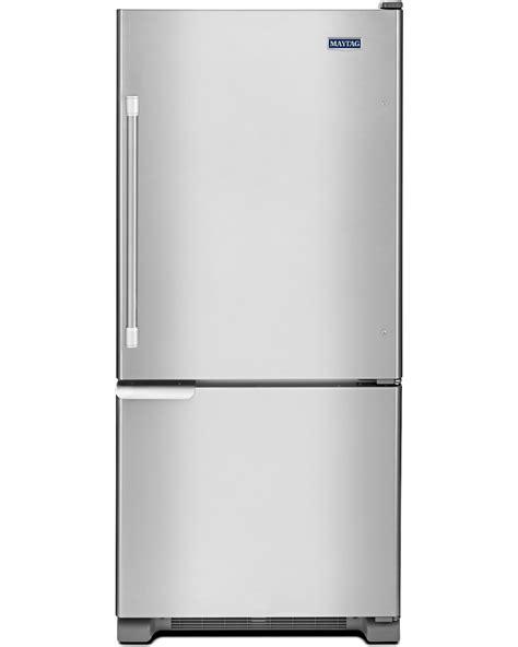 Single Door Refrigerator With Bottom Drawer Freezer by Maytag Mbf1953dem 19 Cu Ft Single Door Bottom