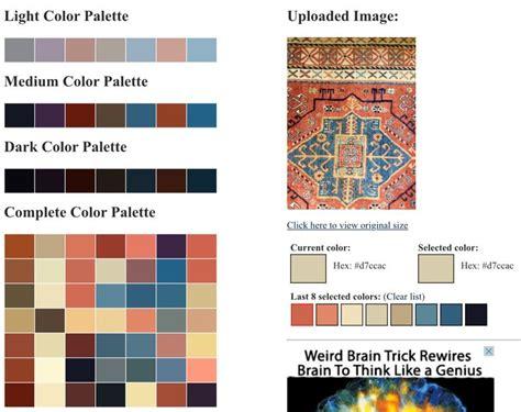 online color scheme generator 78 best ideas about color palette generator on pinterest palette generator color palette from