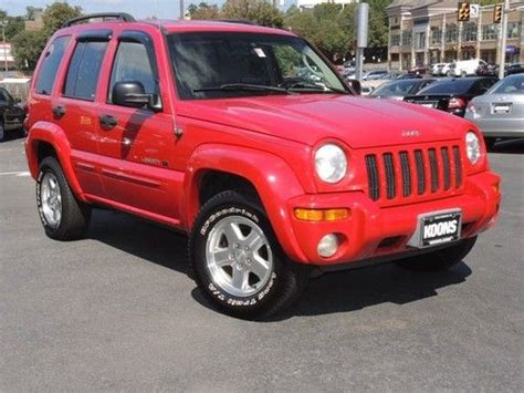 2002 Jeep Liberty Limited Find Used 2002 Jeep Liberty Limited Edition In Falls