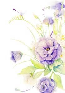 Purple Lilies Watercolor Flower By Florafang On Deviantart