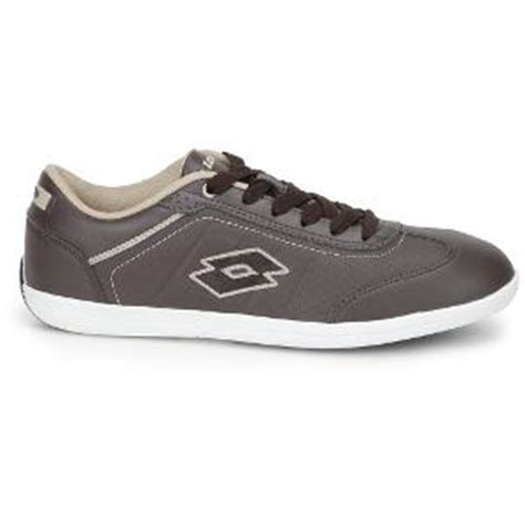 lotto s synthetic leather casual shoes brown
