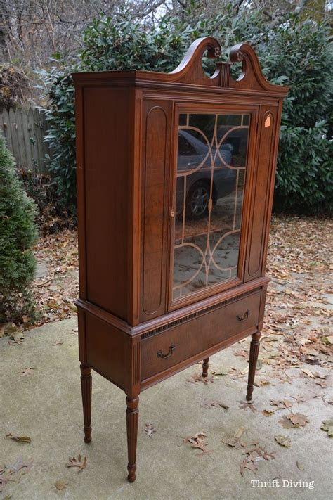 repurpose old china cabinet before after my china cabinet makeover using beyond