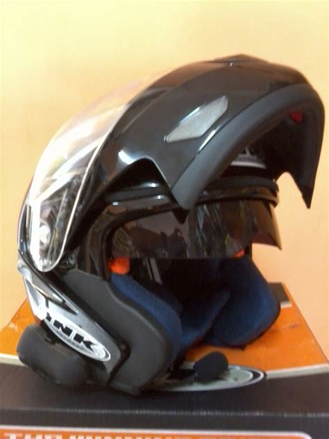 Helm Ink Visor modifikasi motor helm ink visor with bluetooth