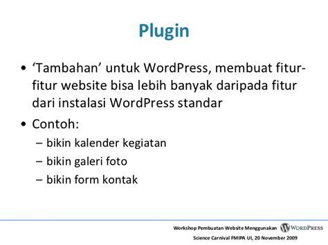 membuat website dari wordpress membuat website menggunakan wordpress