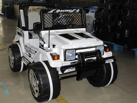 power wheels jeep jeep wrangler style 12v kids ride on car mp3 battery