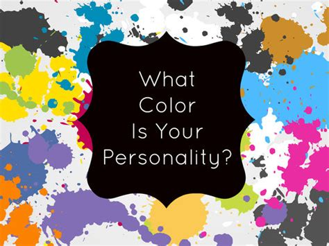 what color is your personality what color is your personality playbuzz
