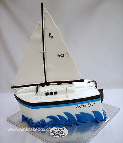 sailing boat birthday cake images sailboat cake 187 celebration cakes