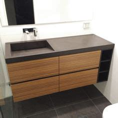 Polished Concrete Vanity by 1000 Images About Polished Concrete Bathroom Basins On