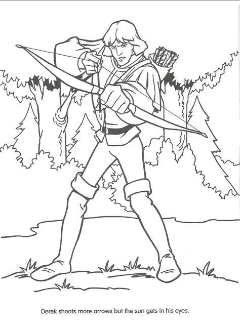 coloring pages swan princess vectors illustration of swan princess coloring page