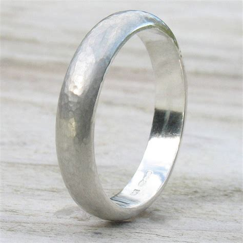 Sterling Silver Handmade Rings - handmade sterling silver hammered ring