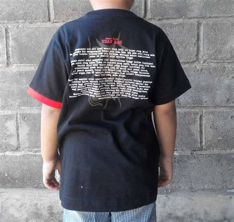 Kaos Anak Ducati 04 kaos pamor udan dewasa anak anak griyo kulo