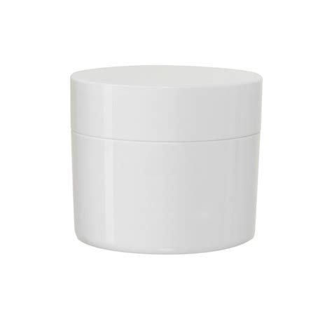 clean white round box mock up blank packaging