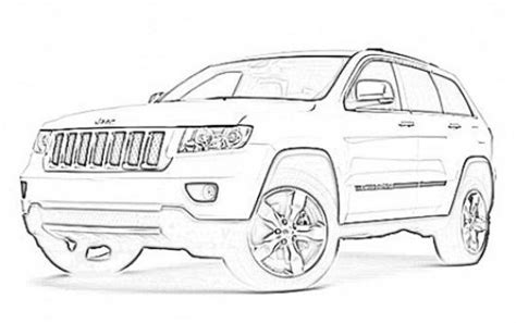 coloring pages jeep grand cherokee jeep grand cherokee coloring pages coloring pages