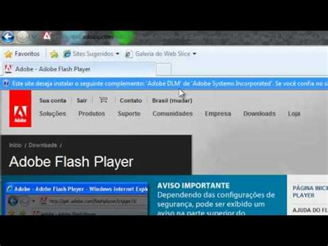 tutorial flash video player tutorial atualizando o flash player youtube