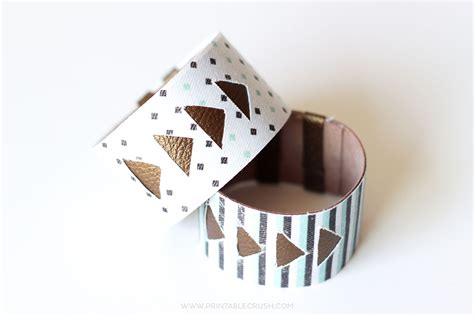 Faux Leather Bracelet faux leather bracelet cricut tutorial printable crush
