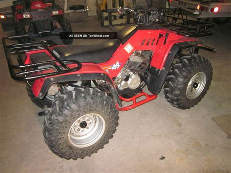 1986 honda fourtrax 350 parts 1986 honda fourtrax 350 4x4 pictures to pin on