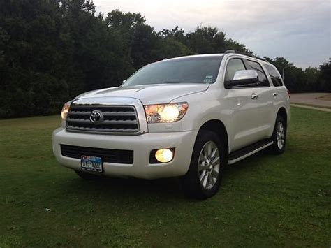 Toyota Sequoia 2010 For Sale Purchase Used 2010 Toyota Sequoia Platinum Sport Utility 4