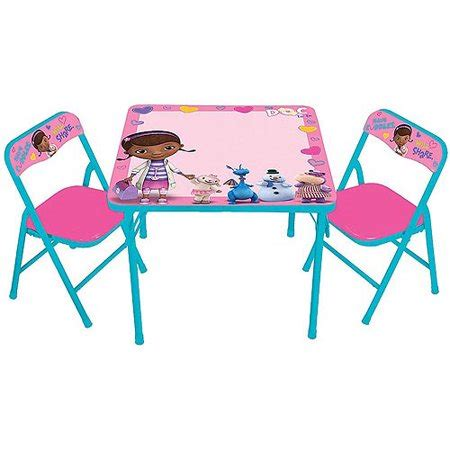 disney activity table and chairs disney doc mcstuffin erasable activity table and chairs