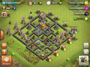 coc strong base structures for lvl6 townhall clash of clans town hall level 7 base layouts coc th7