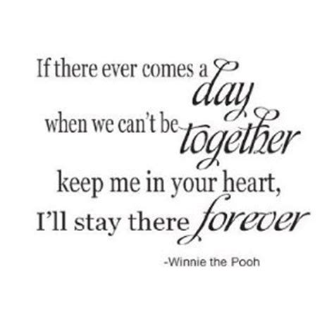 winnie the pooh quotes if there ever comes a day quotesta
