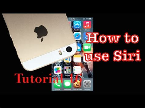 youtube tutorial iphone 5s how to use siri on your iphone 5s tutorial 16 youtube