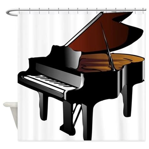 piano shower curtain grand piano shower curtain by kevsmusic