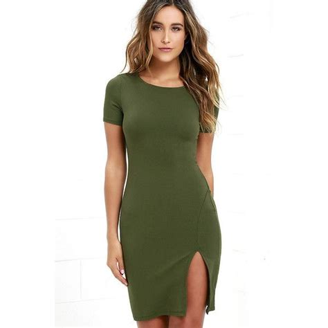 olive green boat neck dress best 25 olive green dresses ideas on pinterest army