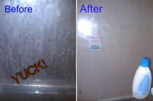 keeping a glass shower door clean for 6 months
