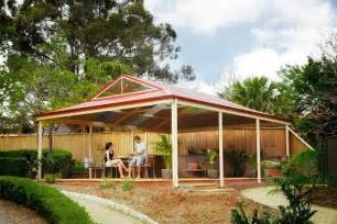 Pitched Pergola by Pitched Dutch Pergola Range Lysaght Living Collection